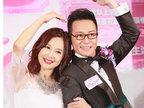 46岁陈松伶发福脸圆显富态 穿婚纱获公主抱-活动现场