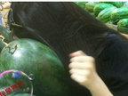 敲西瓜是一门传承已久的绝学-猎奇图片