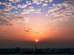 日出日落唯美图片 美丽又震撼-日月星辰