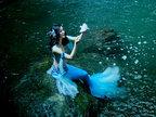 美人鱼摄影作品 如此神秘莫测美的耀眼-人像摄影