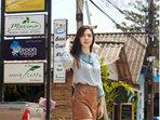 王晓晨化身酷帅girl 诠释个性女王街头美学 -中国女明星