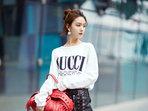 陈瑶玩转时装运动风 个性时髦养眼力max-中国女明星