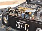 主打千元高性价比市场 华硕Z97-C主板高清图赏_板卡酷品秀