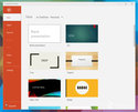 Windows触控版Office套件预览版界面截图:Powerpoint_新品图赏