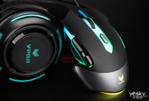 幻彩RGB全面升级 雷柏V302电竞游戏鼠标图赏_外设酷品秀