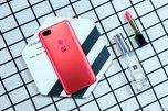 最强王者手机 一加5T熔岩红新机图赏_手机酷品秀