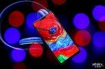 浑然一体的红蓝渐变 OPPO R15星云特别版图赏_手机酷品秀