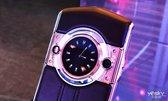 腕表艺术奢华升级 8848 M5钛金手机现场图赏_新品图赏