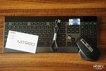 高效办公神器 雷柏MT980多模键鼠套装图赏_外设酷品秀