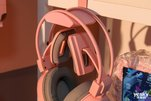 雷柏VH610虚拟7.1声道游戏耳机清莹粉图赏_外设酷品秀