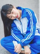 高中?;ㄉ�活�?甜美似奶茶MM-校园春色