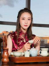 旗袍美女气质写真 演绎东方古典美-人像摄影