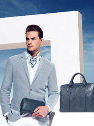 男装皮具 帅气绅士大片彰显型男质感