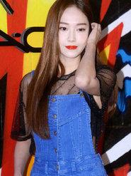 郑秀妍身穿透视上衣  撩发尽显妩媚动人