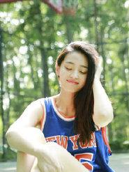 王艺诺穿篮球装也能小清新
