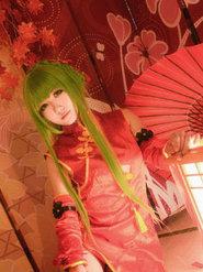 摄影动漫 反叛的鲁鲁修 新年旗袍