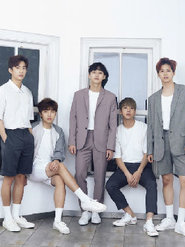 韩国B1A4男子演唱组合高清帅气写真
