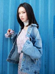 孙嘉灵时尚杂志拍摄的大片花絮曝光