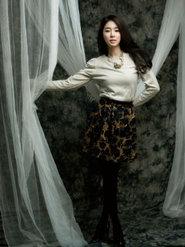 劉仁娜氣質寫真 優雅造型讓人過目不忘