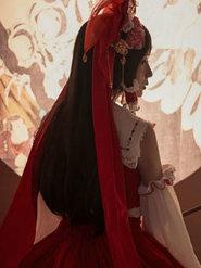 博丽灵梦 胡桃夹子 萌妹子cosplay