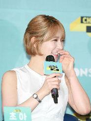 韩女团AOA携新歌出席发布会 获粉丝称赞心情大好