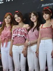 韩国美少女AOA最新活动照片 元气满满颜值逆天