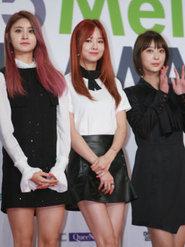 韩国女团EXID出席音乐节 纤细美腿魅力满分