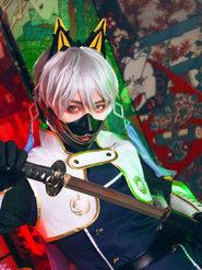 cosplay动漫男神 刀剑乱舞 鸣狐 极化