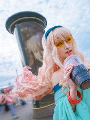 萌妹子cosplay 超時空要塞 旧金山约会巡礼