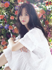 金所炫清新唯美写真 简直美到爆