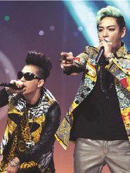 BIGBANG演唱会现场超燃 引摇滚风暴
