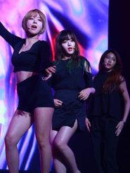 AOA演唱会超嗨 点燃狂欢之夜