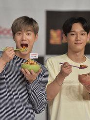EXO出演综艺节目 变身超萌吃货