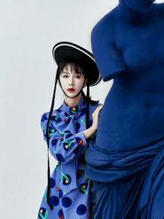 娄艺潇时尚大片曝光 诠释着女性的优雅与美丽