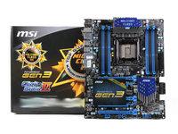 打开X系列光环 图解微星X79-GD65高端主板