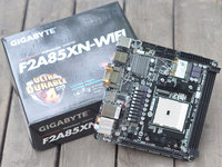 全能APU微型小板 技嘉F2A85XN-WIFI主板高清图赏