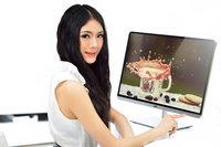 同类中的高富帅 T2000 Pro显示器美女图赏