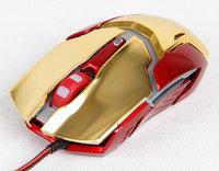 手感异常舒适 极光狂蛇钢铁侠3纪念版鼠标图赏