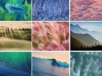图集:苹果OS X 10.9 DP7新增8款漂亮壁纸原图