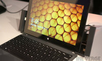 直击微软新品发布 Surface Pro 2现场试玩