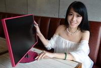 美女最爱 优派VX2209彩框显示器图赏