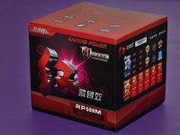致游戏电源银效前行者,红紫银效RP500M开箱图赏