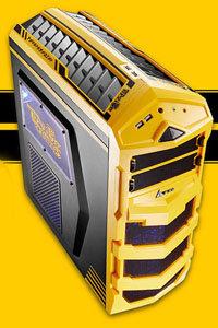 大黄蜂变形出发,金河田进化大黄蜂MOD机箱精美图赏