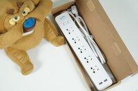 双USB充电+限流保护 APC致选系列插排开箱图赏