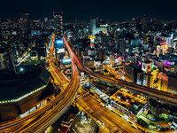 『风光摄影』Sandro Bisaro:鸟瞰日本夜色