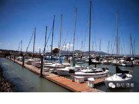美丽的旧金山渔人码头