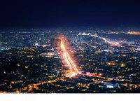 迷人的城市�艄庖咕�z影