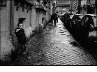 Nathanaël Fournier:黑白�z影下的法��街�^