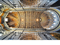 HDR看罗马教堂穹顶