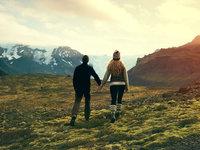 行走冰岛的唯美蜜月照